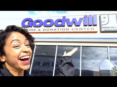 THRIFTING BRANDS!! GOODWILL WITH GREATLIZA.
