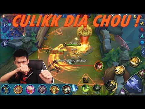 Hero Yang Di Takuti Di Rank Tier GL 50+ - Chou Build Review - Mobile Legends #34