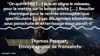 "Thomas Pesquet : ""On quitte l"