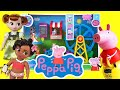 Moana and Anna Visit Peppa Pig's Fair! Featuring George and Peppa!  Princess World
