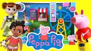 Moana and Anna Visit Peppa Pig