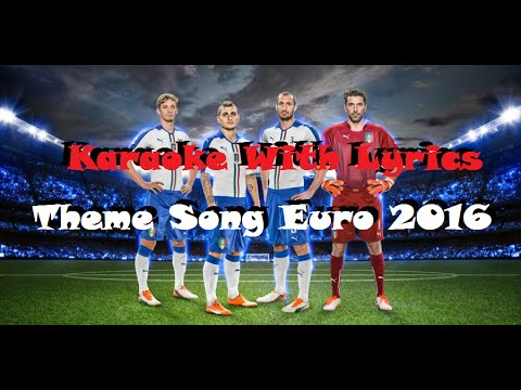 This One For You (Karaoke Version) - David Guetta Theme EURO 2016 Official Lyrics (HD)