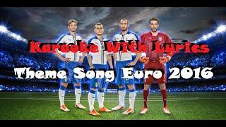This One For You (Karaoke Version) - David Guetta Theme EURO 2016 Official Lyrics (HD)