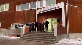 Suolahden yhtenäiskoulun avajaispuhe