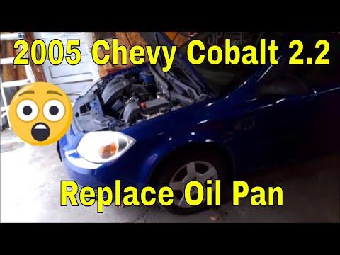 2005 Chevy Cobalt Oil Pan Replace 2.2 Ecotech