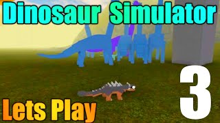 [ROBLOX: Dinosaur Simulator] - Lets Play w/ Friends Ep3 - Flying Birds Attack