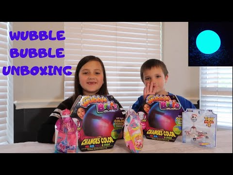 WUBBLE BUBBLE UNBOXING! TOY HAUL! SQUISHY AND SLIMI BAGS!