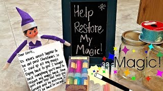 Purple Elf on the Shelf - Restoring Magic After Christmas - How to Get Your Elf Back!!!