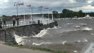 Storm på Mjøsa