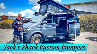 CUSTOM Camper Vans and Hot Rods - Jack's Shack Van & Workshop Tour