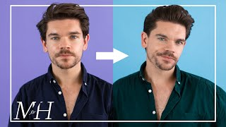 My Haircut and Style | Classic Men's Hairstyle Tutorial