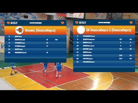 08.12.2018. НБА. Феликс - Новосибирск-2.