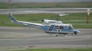 Bell212 Take-off JCG(Japan Coast Guard) MH607 すま