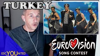 Turkey in Eurovision: All songs from 1975-2012 (REACTION)