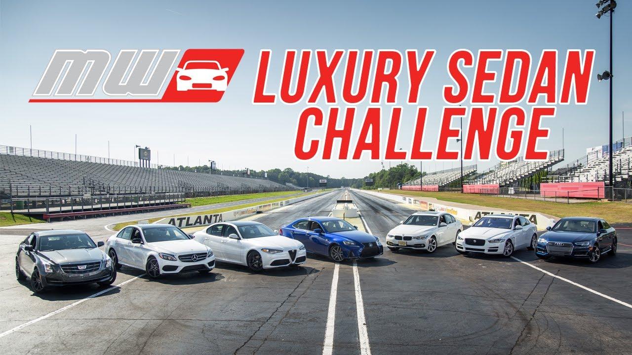 Comparison Test Luxury Sedan Challenge Youtube