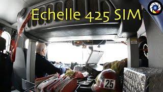 [Montreal] A bord de l'Echelle 425 // Ride Along Ladder 425 SIM