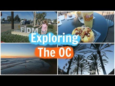 Vlog: California Day 3! Exploring Orange County! FIDM, Irvine Spectrum and Huntington Beach!