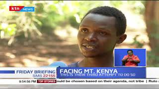 Facing MT. Kenya: Runners are targeting new record, hoping to run Mt. Kenya 3 times in 24hrs