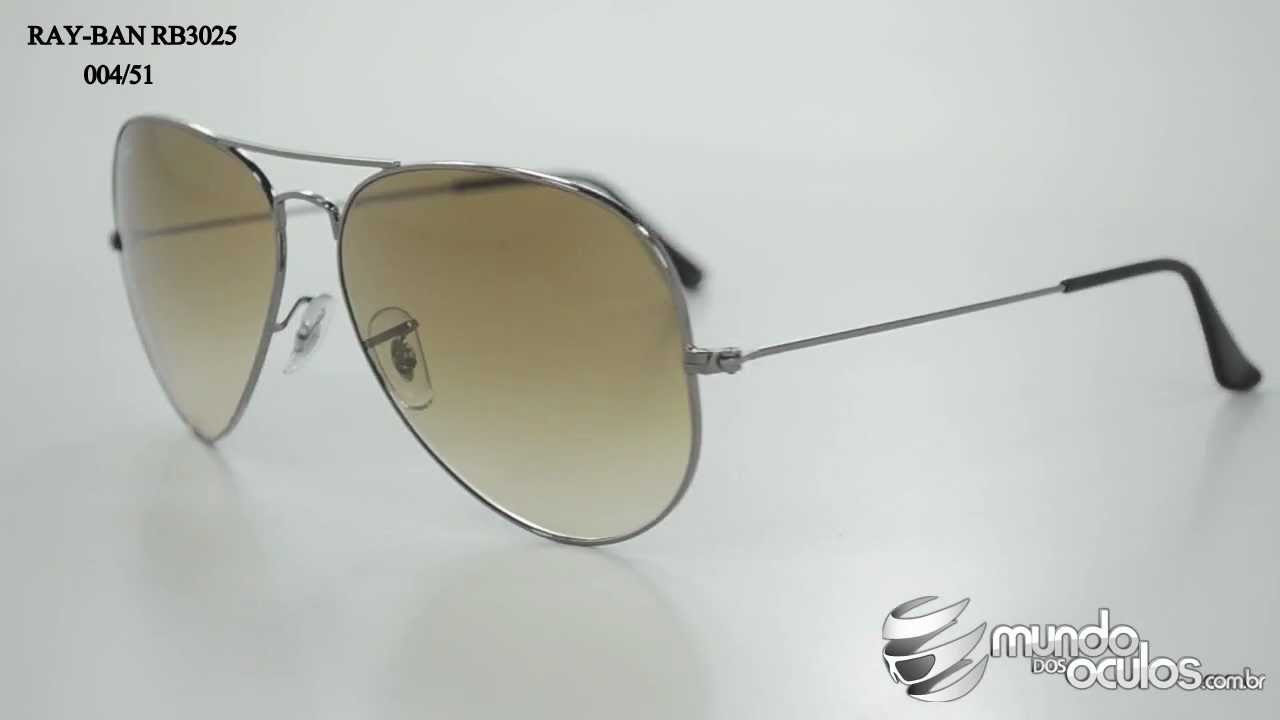 d1e1cf5a84c99e Ray-Ban RB3025 004 51 - YouTube