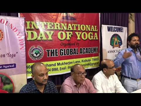 INTERNATIONAL YOGA DAY CELEBRATED AT PRAGYAN FOUNDATION DR SURESH KUMAR  AGARWAL JI(2)