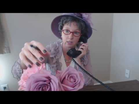 ASMR Roleplay ~ 1940s Gossipy Lady / Avon Telephone Sales