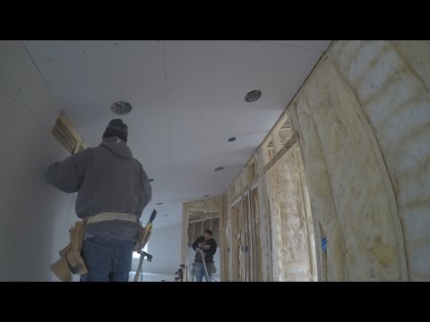Drywall Taping and Mudding - JAM House - Experience Construction