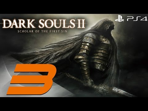 Dark Souls 2 PS4 - 60fps Walkthrough Part 3 - The Last Giant & The Pursuer