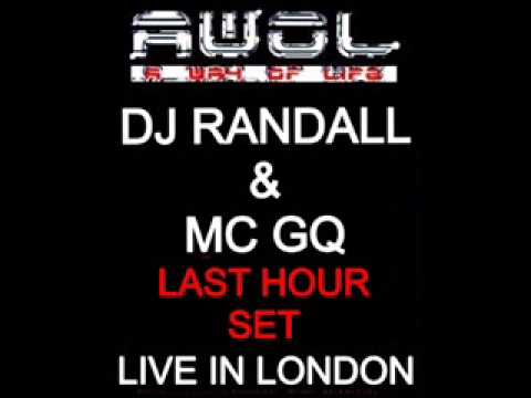Dj Randall & Mc GQ Last Hour Set @ AWOL V2 Live in London 1994