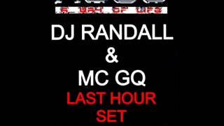 Dj Randall & Mc GQ Last Hour Set @ AWOL V2 Live in London 1994