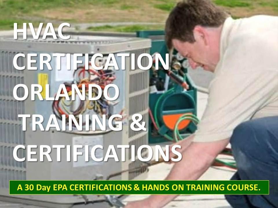 Need A Job? AC Refrigeration 4 Week Certification Orlando 321-216 ...