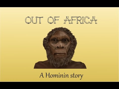 Out of Africa:  A Hominin Story.