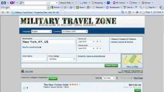 Discount Military Travel and Hotels