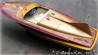 Chris Craft Corbra Wooden Handicrafts Model Boats & Ships