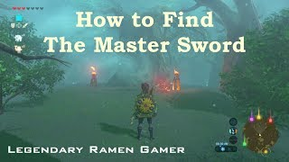 How to walk through the Lost Woods: Legend of Zelda Breath of the Wild