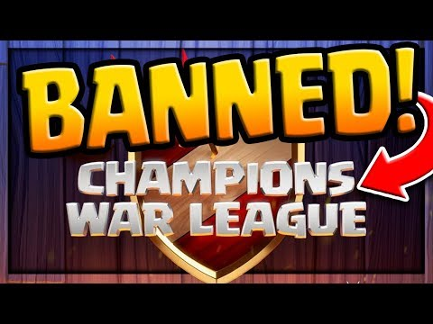 BANNED - Clash Of Clans Clan War Leagues - The Discussion And Details!