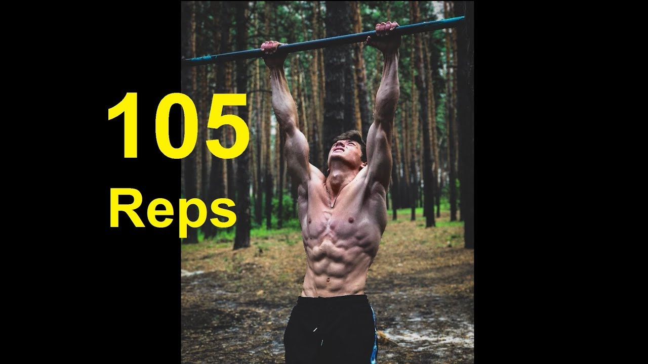 Download 105 Pull Ups - WORLD RECORD - (No Hanging Rest & All in One Set)
