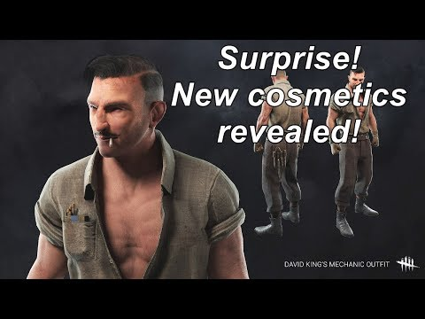 Dead By Daylight| Surprise! New cosmetics revealed!