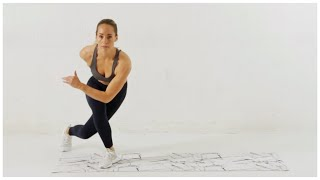 Week 1 Day 2 // HIIT Cardio Workout + Abs (No Equipment)