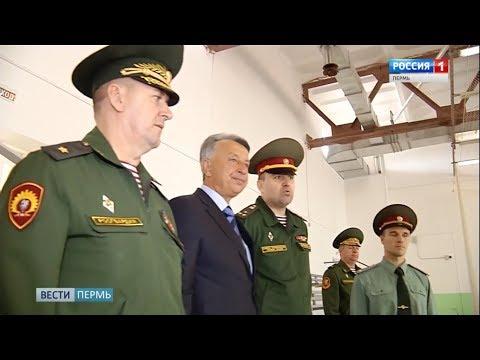 Посещение Пермского военного института делегацией из Узбекистана