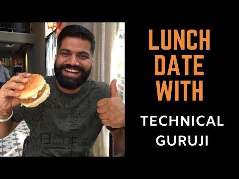 Lunch date with Technical Guruji at Cantino, Hudson Lane, New Delhi