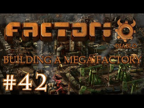 Factorio - Building a Mega Factory: Part 42 hooking up the oil refinery