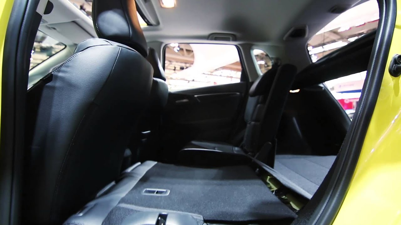 The All New 2015 Honda Fit Interior Features Youtube