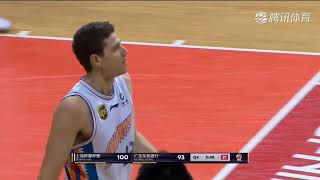 Jimmer dominates both ends of the floor as his Shanghai Sharks knock off #1 Guangdong Southrn tigers