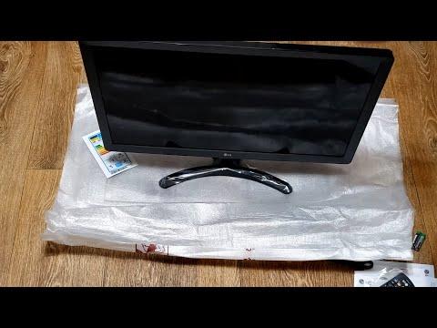 Обзор телевизора Lg 24TL510V-PZ настройка.
