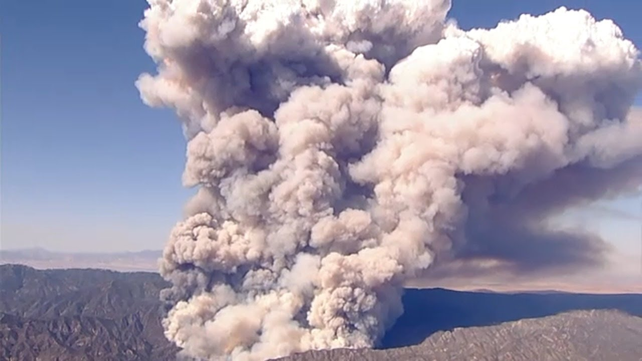 Lake Fire: Blaze near Lake Hughes in Angeles National Forest ...