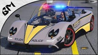 GTA 5 - LSPDFR - HOT PURSUIT - Dubaï Police - Pagani Zonda - Patrouille 21