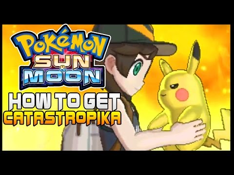 pokemon sun how to catch
