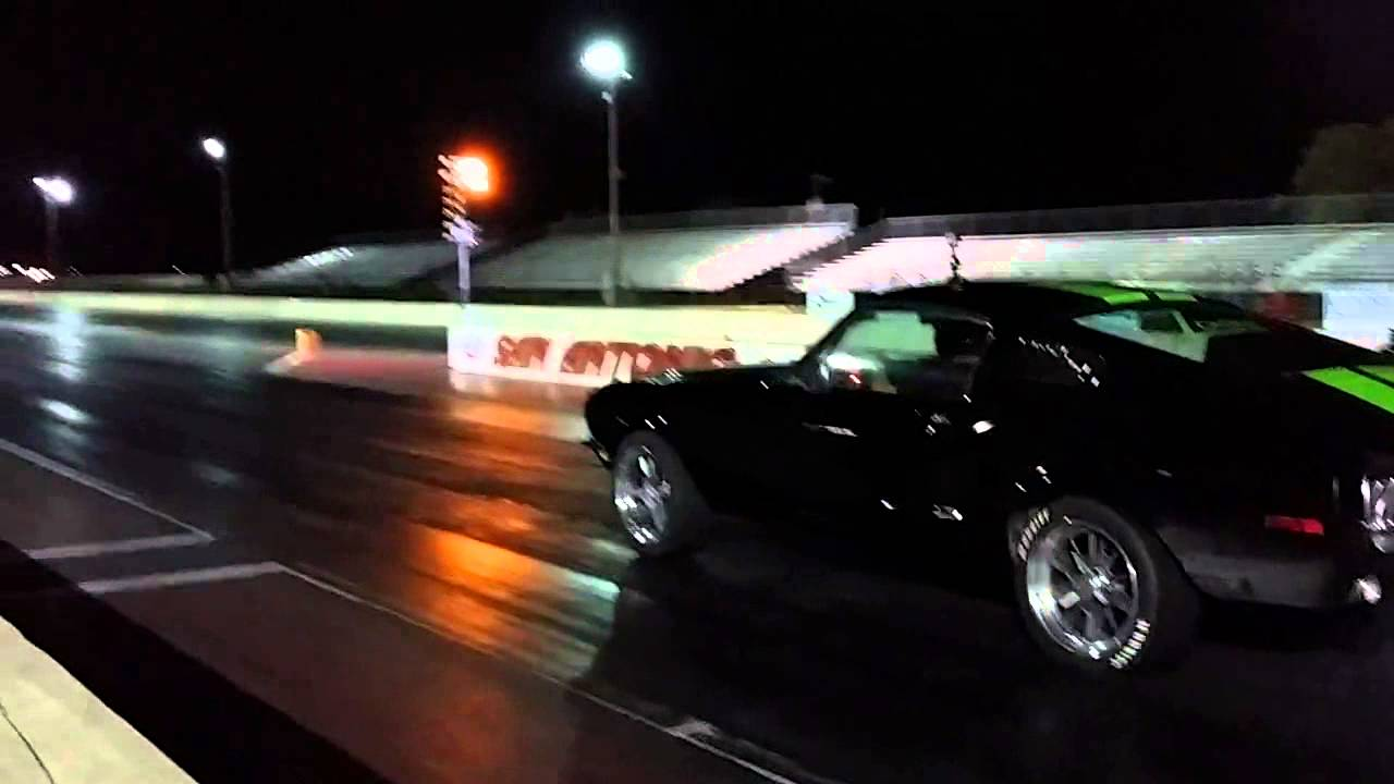 Electric mustang fastback zombie 222 drag race youtube