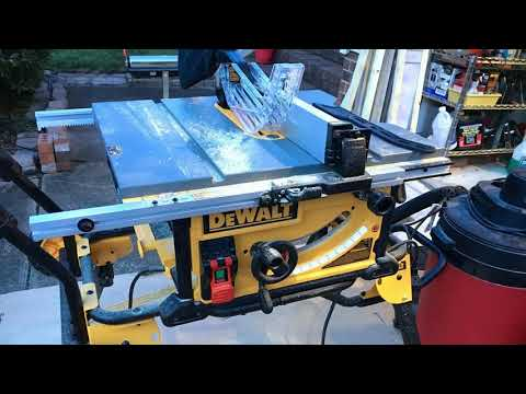 DEWALT 10-Inch Table Saw DWE7491RS Review - My Thoughts