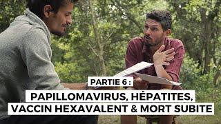 Enquête vaccination N°6-Papillomavirus, Hépatites, vaccins hexavalents & mort subite du nourrisson